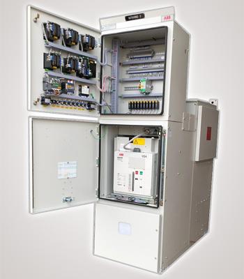 11 kV Panel with doors Open