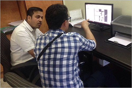 Discussions with customer for tailormade Products
