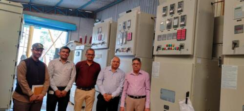 Visit Of ABB Marketing Head to our works