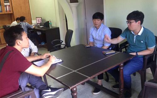 Visit Of Korean Delegation [HYOSUNG] To Vibha Corporation