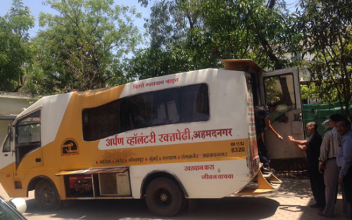 Voluntary Blood Donation by our team on 125th birth anniversary of Shri Baba Saheb Ambedkar